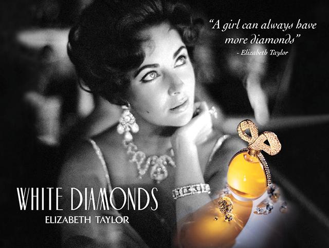 Elizabeth Taylor White Diamonds Night