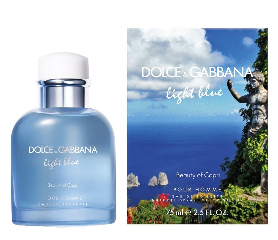 Dolce Gabbana Light Blue Pour Homme Beauty Of Capri Parfum